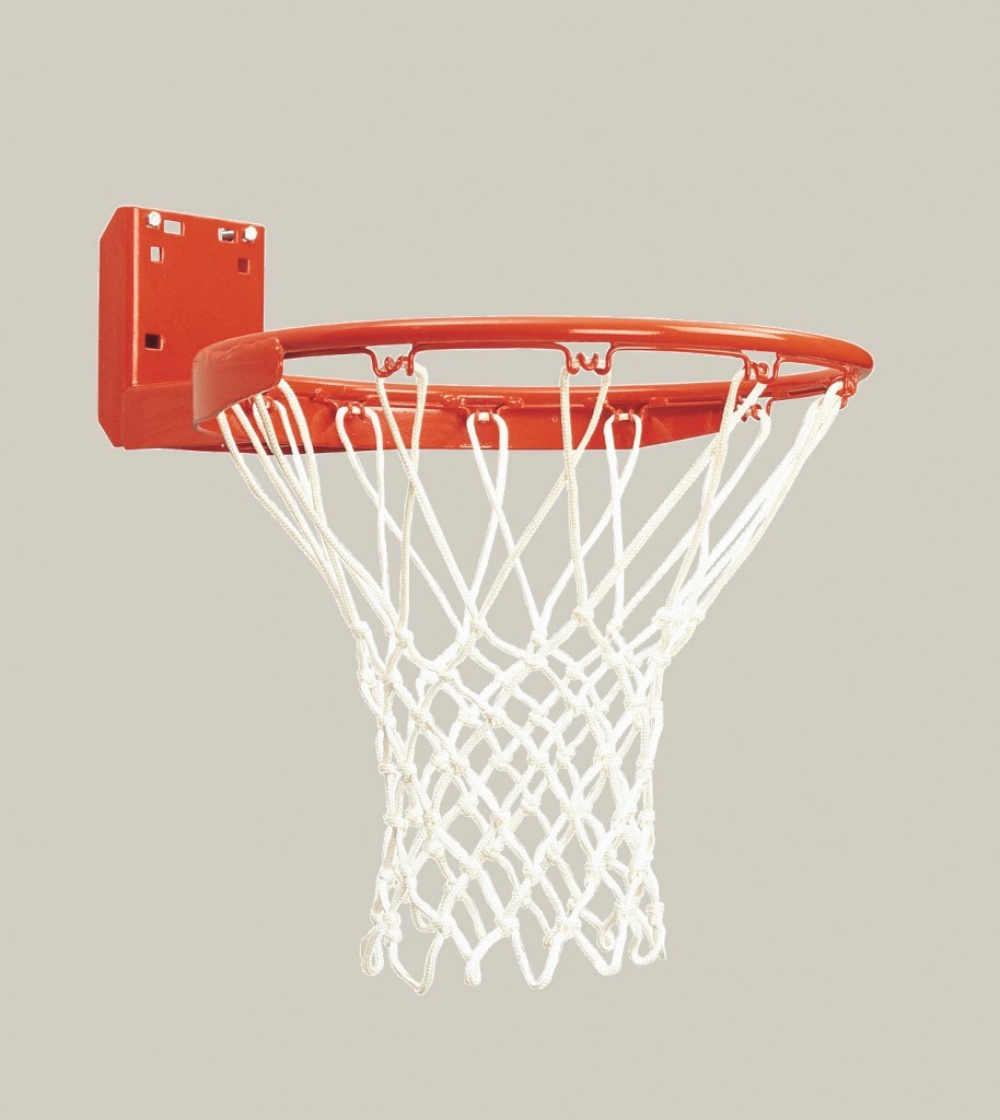 Standard Rear Mount Competition Basketball Goal 1