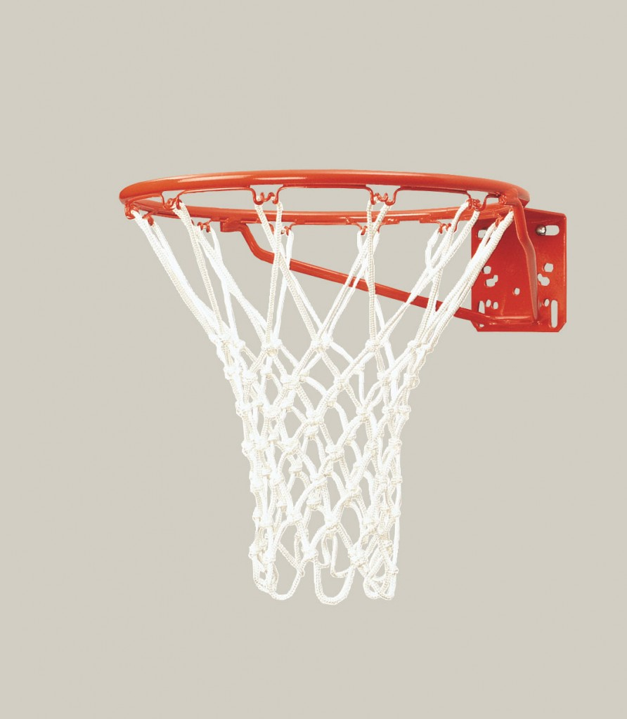 Standard Front Mount Competition Basketball Goal 1
