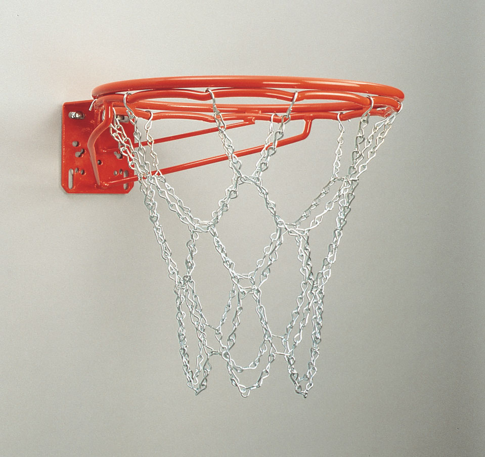 Front Mount Double-Rim Basketball Goal 1