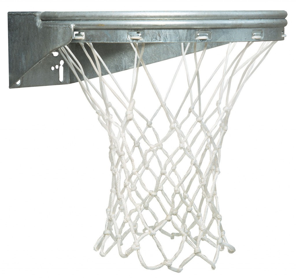 Ultimate Coastal Front Mount Basketball Goal with Galvanized Finish 1