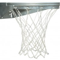 Ultimate Coastal Front Mount Basketball Goal with Galvanized Finish