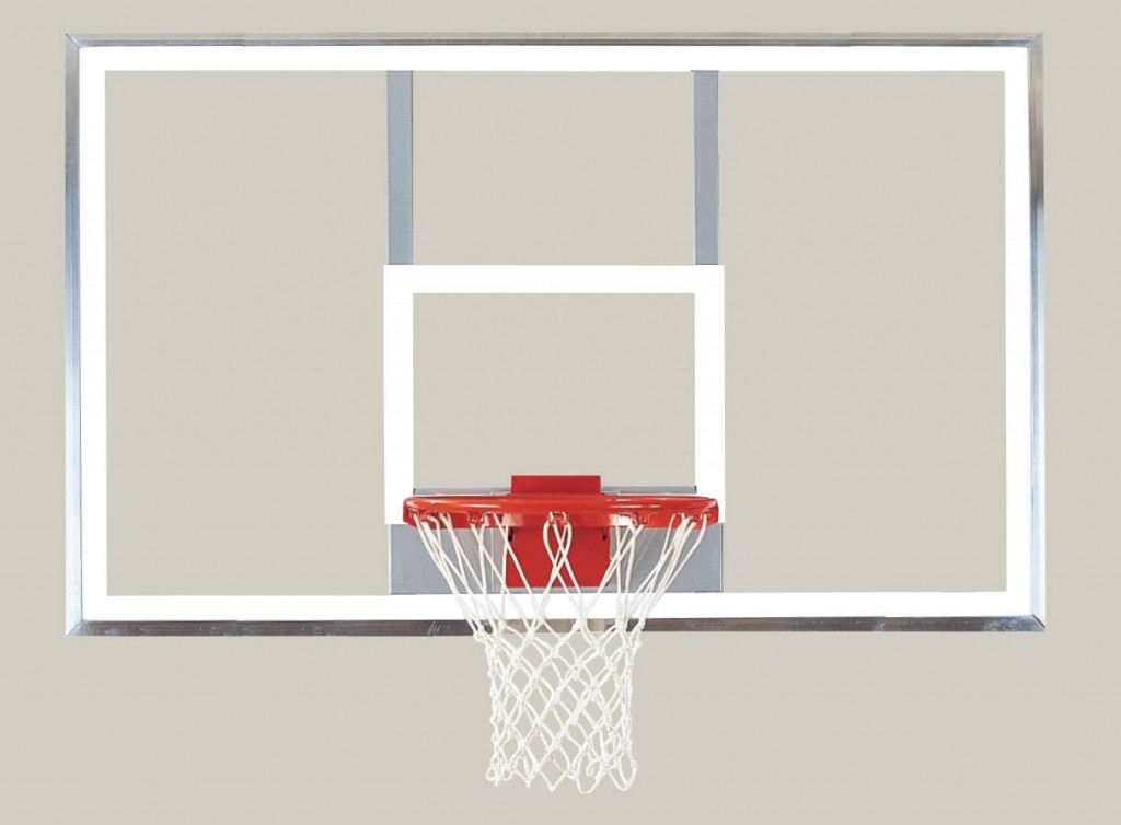 42″ x 72″ Polycarbonate Playground Backboard 1