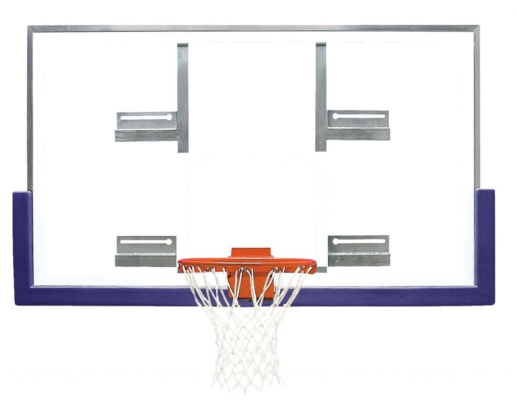 42″ x 72″ Extended Life Short Glass Conversion Backboard 1