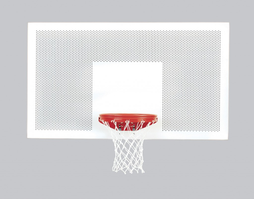 42″ x 72″ Perforated Steel Playground Backboard 1