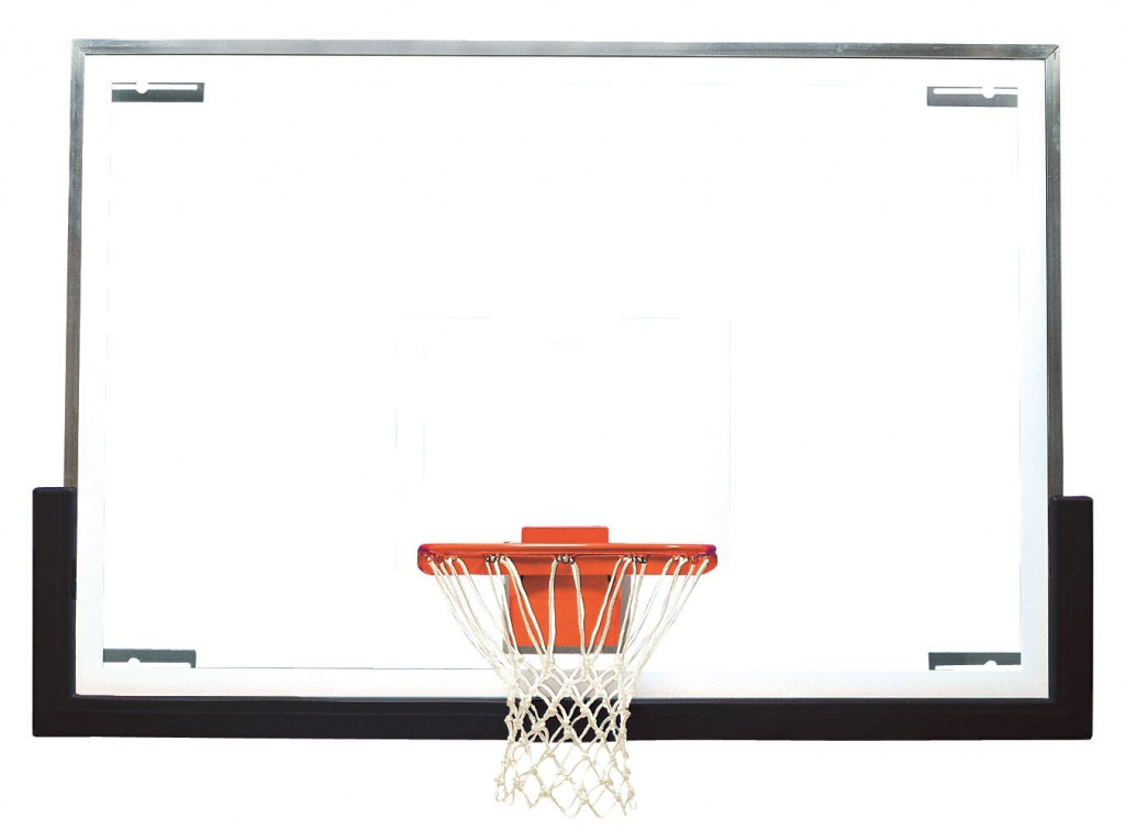 48″ x 72″ Unbreakable Tall Glass Backboard 1