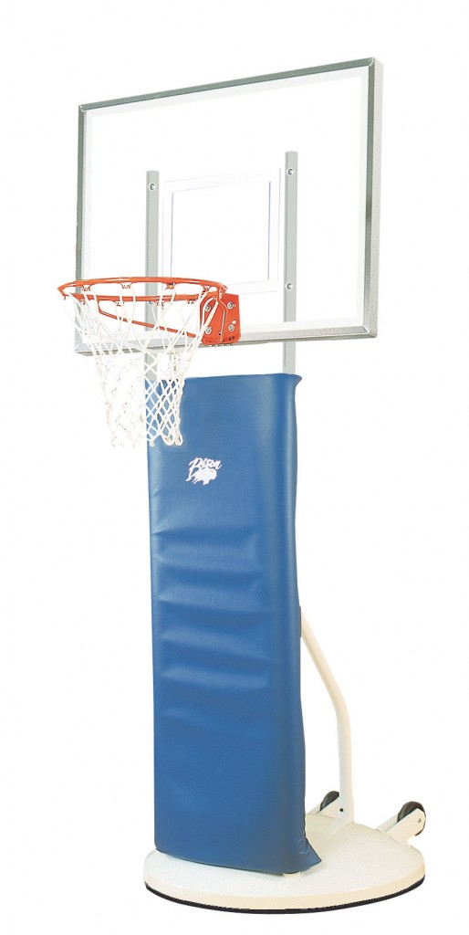 Playtime™ Clear Acrylic Elementary Basketball Standard