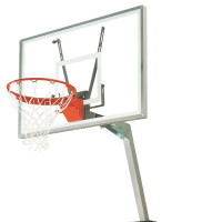 Club Court Acrylic Adjustable Portable Basketball System