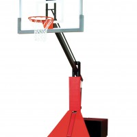 Glass Max Portable Adjustable Basketball System--4 Stock Padding Colors