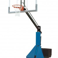 Super Glass Max Portable Adjustable Basketball System--4 Stock Padding Colors