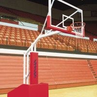 T-Rex 66 Side Court Portable Basketball System. 17 colors.