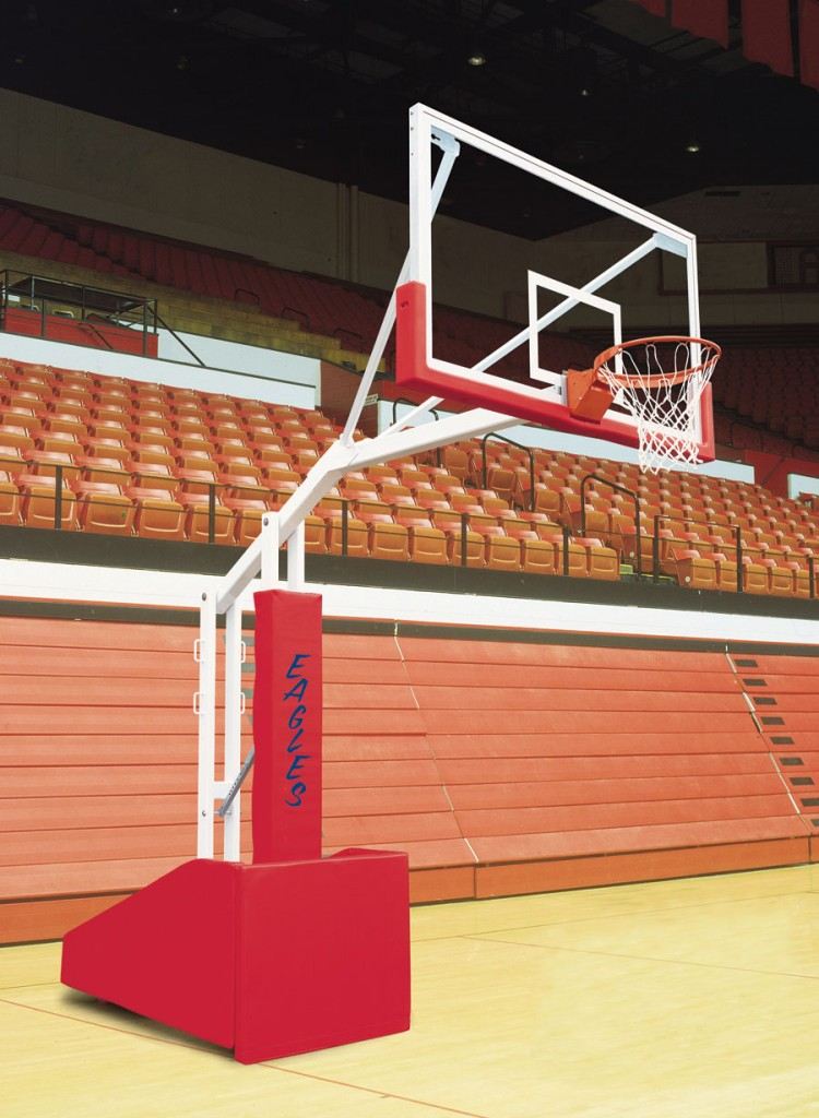 T-Rex 66 Side Court Portable Basketball System. 17 colors