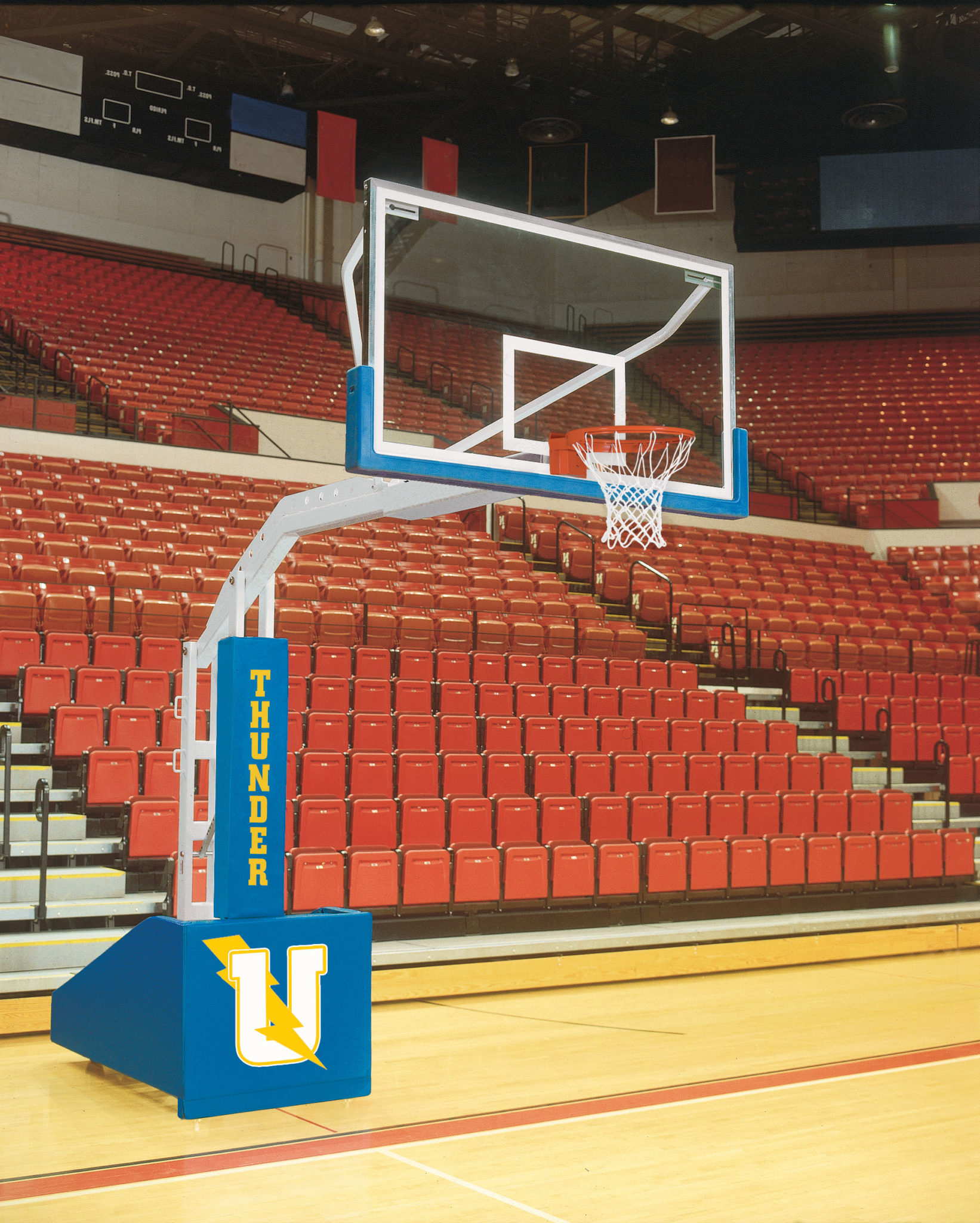 T-Rex 96 Competition Portable Basketball System. 17 colors