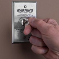 Key Switch and Single Cover Plate