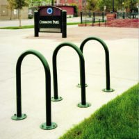Flip Up bike rack