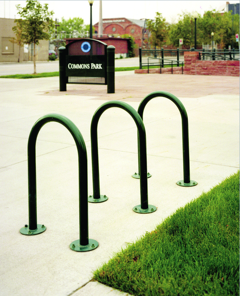 Flip Up bike rack 1