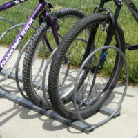 Hoop Up bike rack