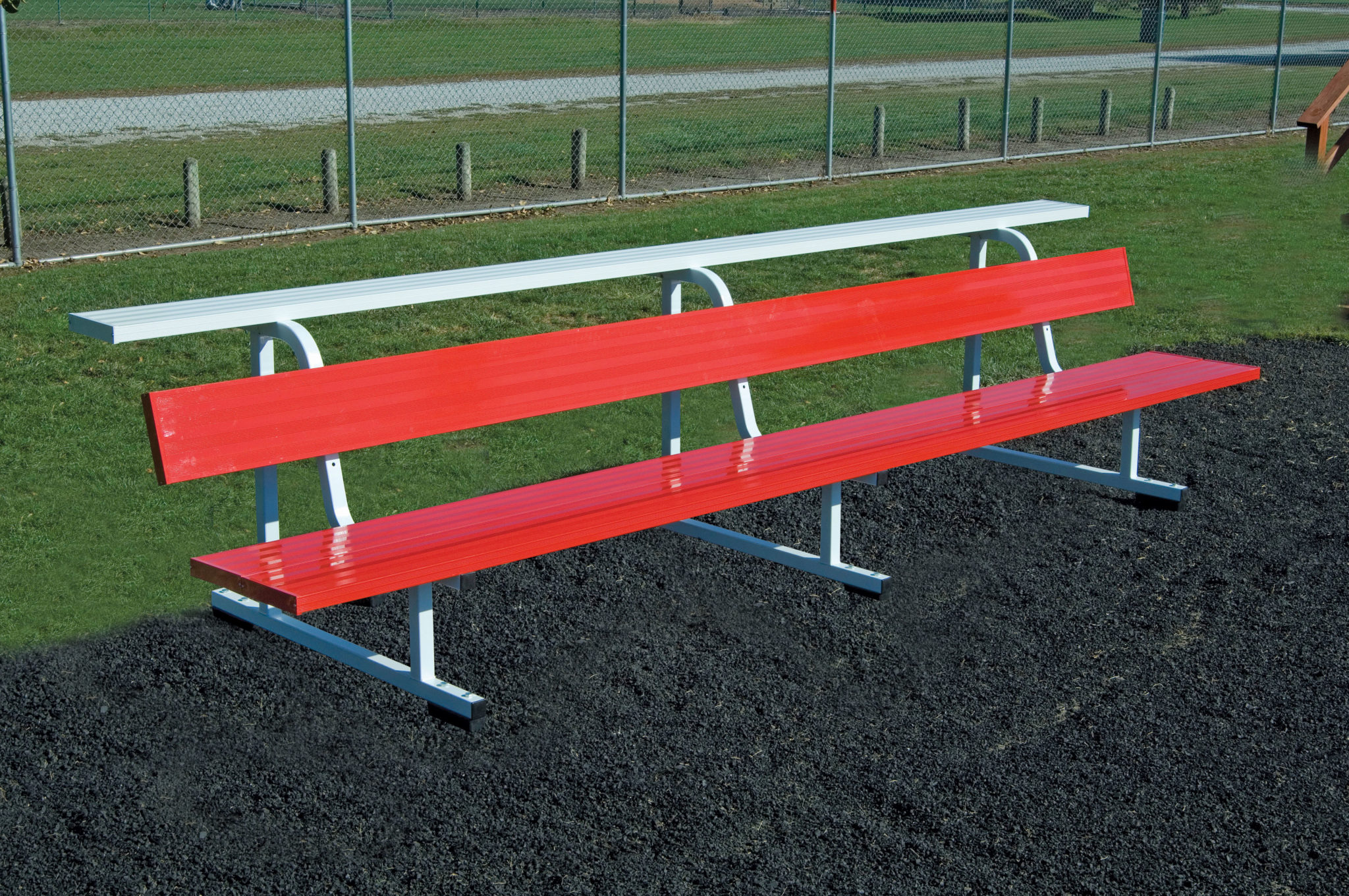 Big B Portable Football Team Benches Bison Inc