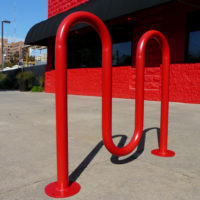 Wave bike rack 2