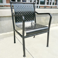 """Cafe Collection 18"""" chair for 30"""" tall pedestal"""