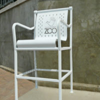 """Cafe Collection 30"""" high top chair for 42"""" tall pedestal"""