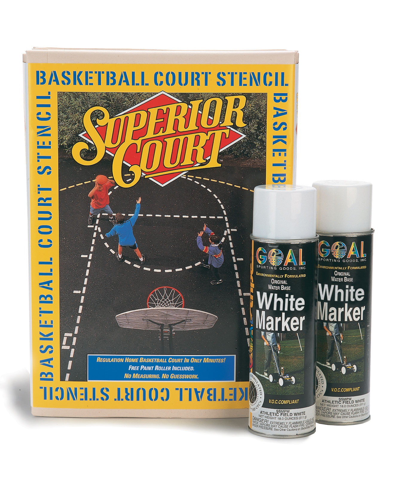 Basketball Court Marking Kit Bison Inc