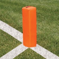 Weighted Football Goal Line End Markers (Set of 4)