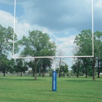 "4 1/2"" White High School Football Goalposts"