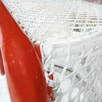 6mm Ice Hockey Net with Puck Cushions (Pair)