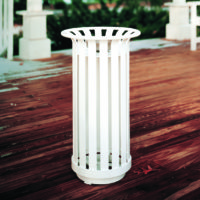 Manchester round ash receptacle