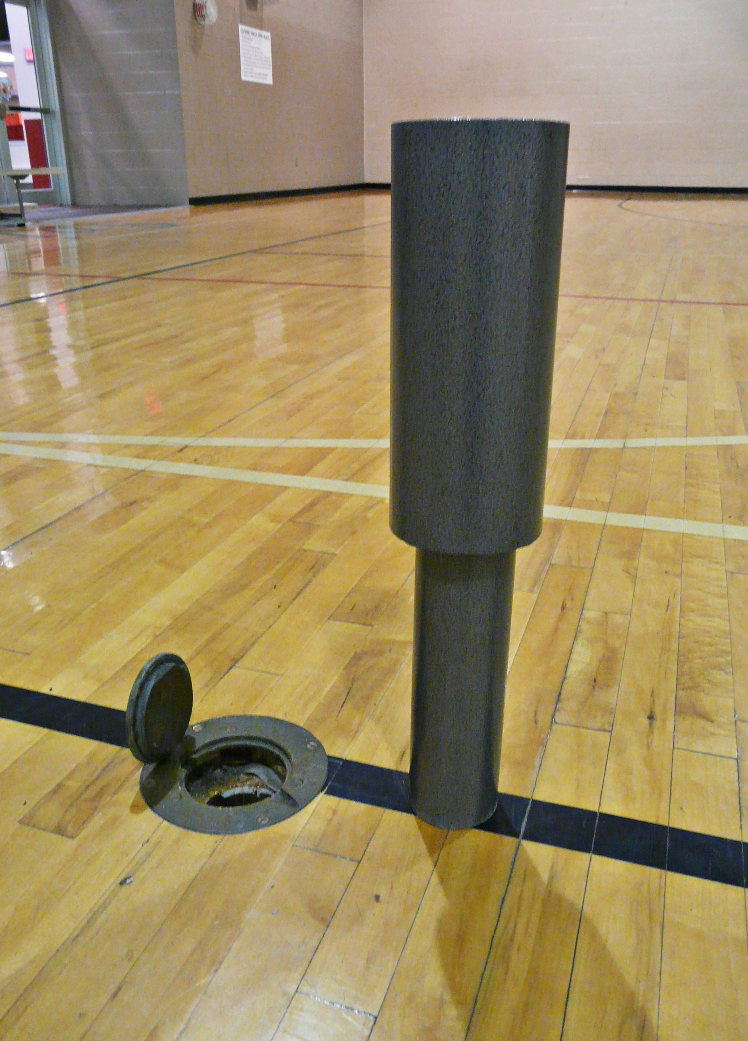 Oversize Volleyball Post Adapters Bison Inc