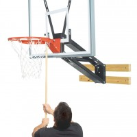 Qwik-Change Acrylic Basketball Shooting Station