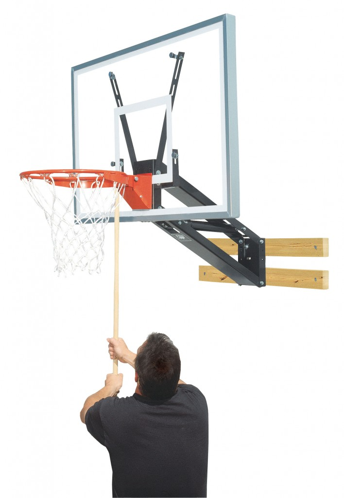 Qwik-Change Acrylic Basketball Shooting Station 1