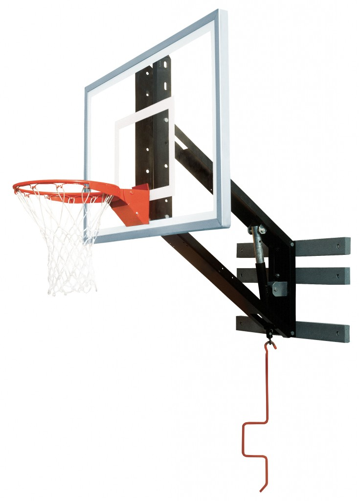 Zip Crank Adjustable Glass Basketball Shooting Station 1