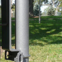 "2-3/8"" diameter pole for Space Saver pole mount receptacles"