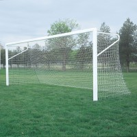 Optional European Soccer Backstays for In-Ground Goals