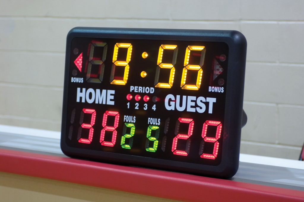 Portable Wireless Remote Scoreboard  1