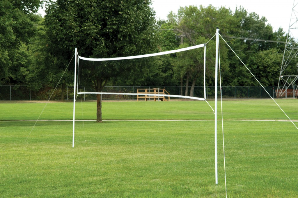 Portable Volleyball/Badminton Set 1