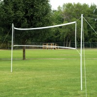 Portable Volleyball/Badminton Set