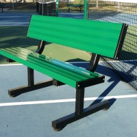 4' Tennis Player Bench