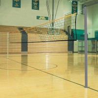 "Universal 2 3/8"" Volleyball/Badminton Game Standards with VB Net"