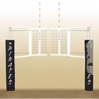 Centerline  Aluminum Volleyball System. 18 padding colors.