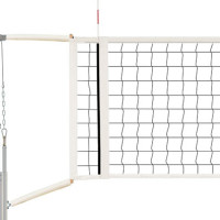 QwikSet Competition Volleyball Net with Cable Covers and Storage Bag