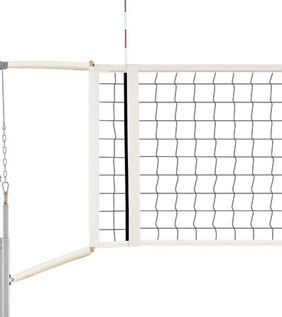 QwikSet Competition Volleyball Net with Cable Covers and Storage Bag 1