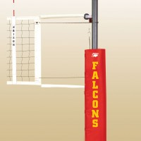 Match Point Aluminum Portable Volleyball System.  18 padding colors.