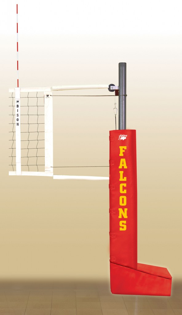 Match Point Aluminum Portable Volleyball System.  18 padding colors