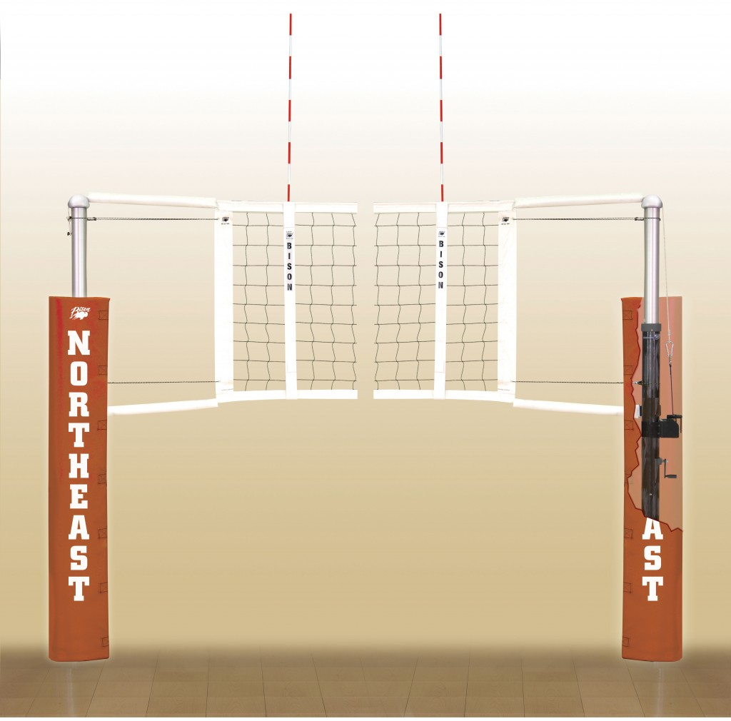 CarbonMax Volleyball System. 18 padding colors