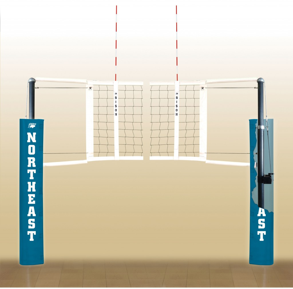 CarbonLite Volleyball System.  18 padding colors