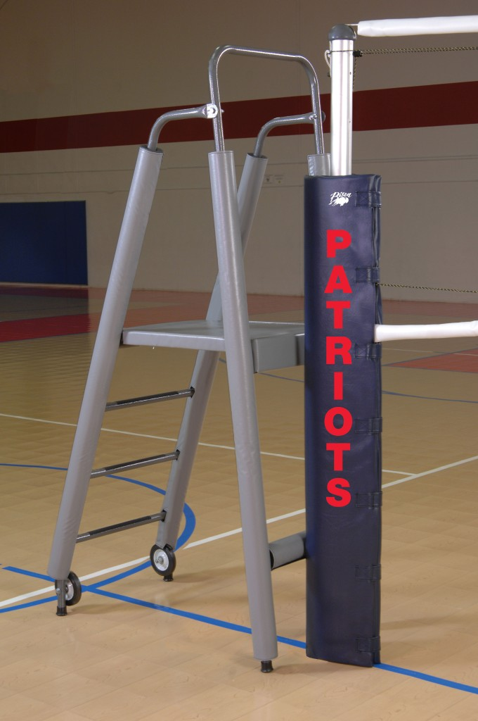 Folding Padded Volleyball Officials Platform with Padding 1