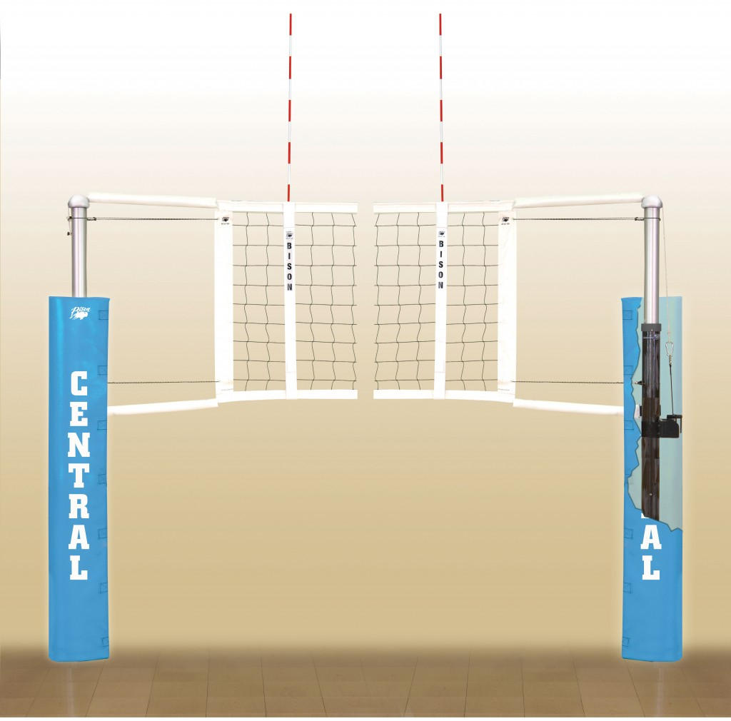 Centerline Carbon Fiber Volleyball System. 18 padding colors