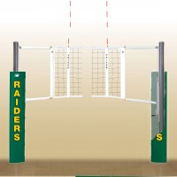 UltraLite Aluminum Volleyball System. 18 padding colors